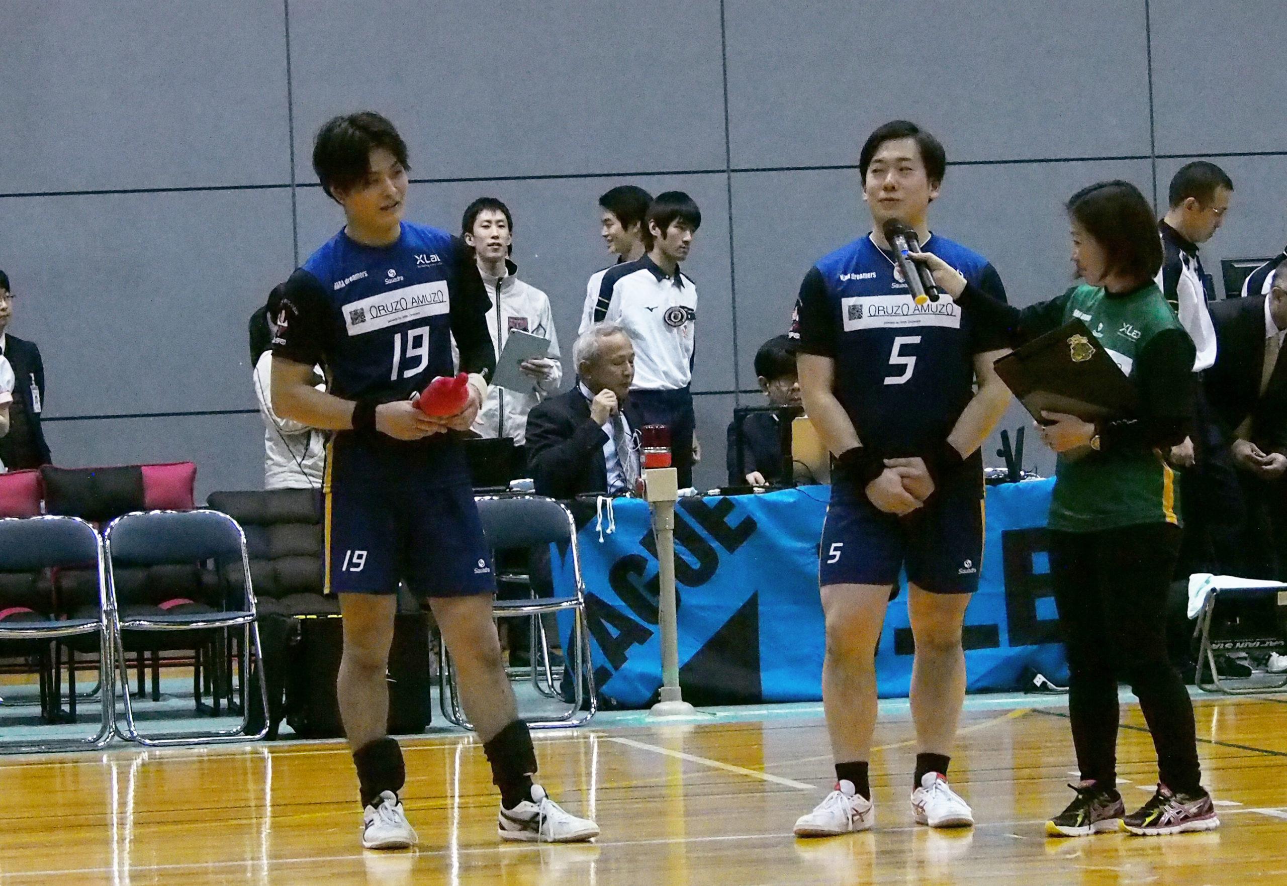 奈良ドリーマーズリベロの選手