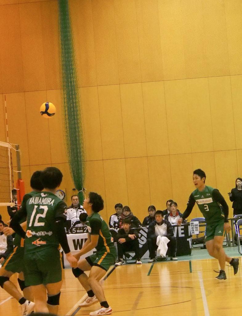 バレーボール試合写真#3壇上 正健 選手