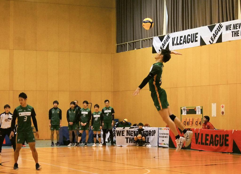 バレーボール選手 #12 川村 幸司 選手